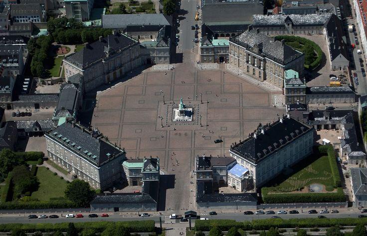 Amalienborg - Kopenhaga