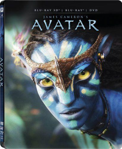 Avatar (2009) Amazon.co.jp | アバター スチールブック仕様 3Dブルーレイ&DVDセット(2枚組) [Blu-ray] DVD・ブルーレイ - サム・ワーシントン, ゾーイ・サルダナ, シガーニー・ウィーバー, スティーヴン・ラング, ミシェル・ロドリゲス, ジェームズ・キャメロン #steelbook