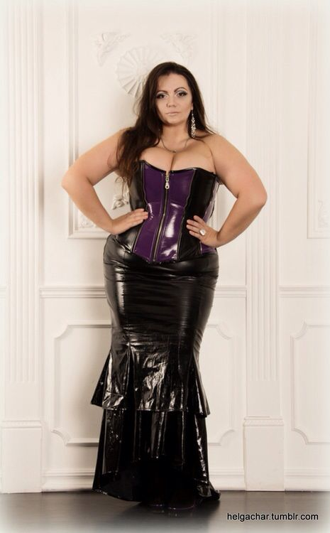 Nice girls plus size leather fetish wear Tory Lane