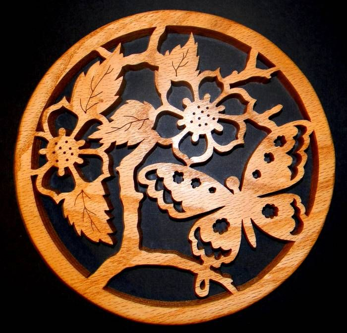 Just Me!: Last Trivet For Now - Scroll Saw -