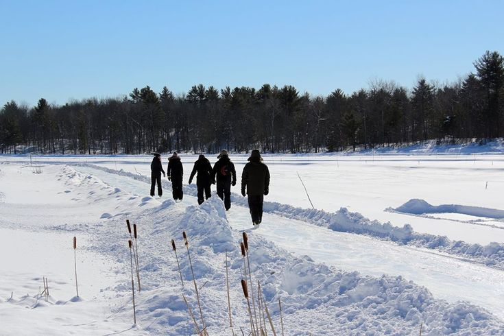 The creation of the Ice Trail at Arrowhead Provincial Park is an inspired idea that has snowballed in Ontario's cottage country.