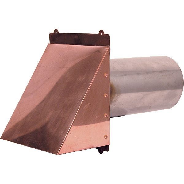 Dryer Vent - Exhaust Vent - Copper Dryer Vent - Stainless Steel Dryer Vent | Copperlab
