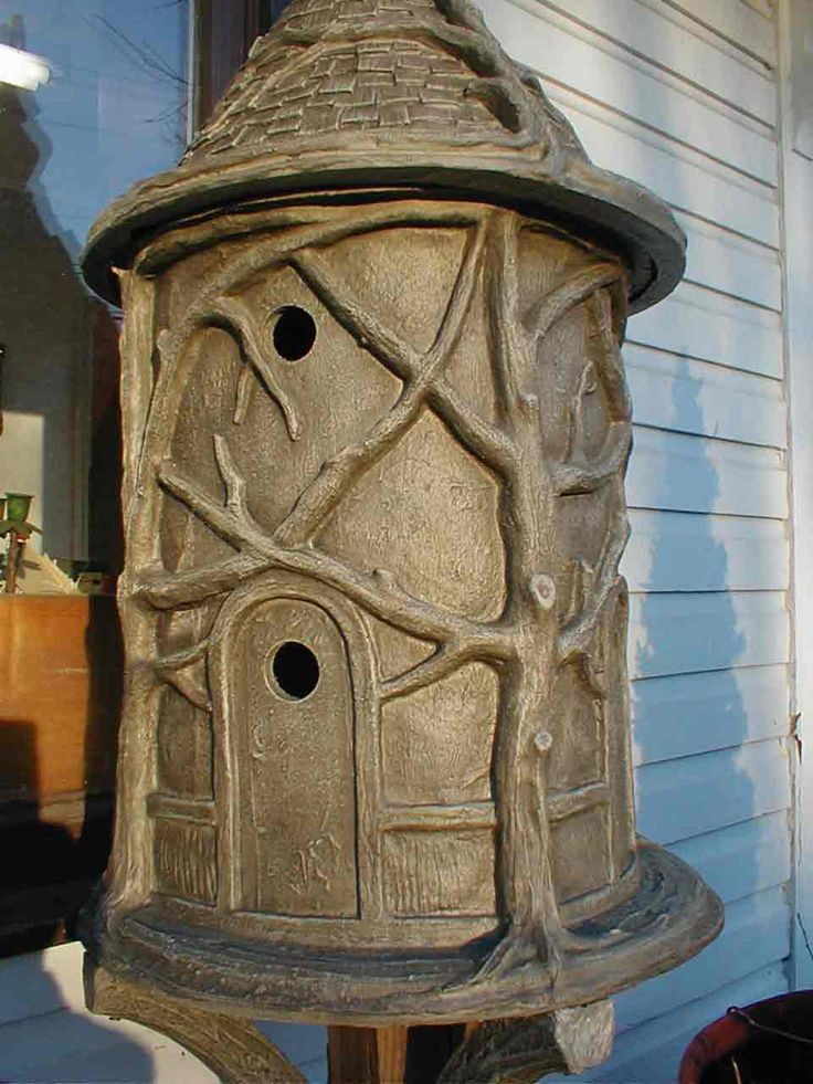 unusual bird houses | ... unique bird houses. They are large architectual, whimsical houses