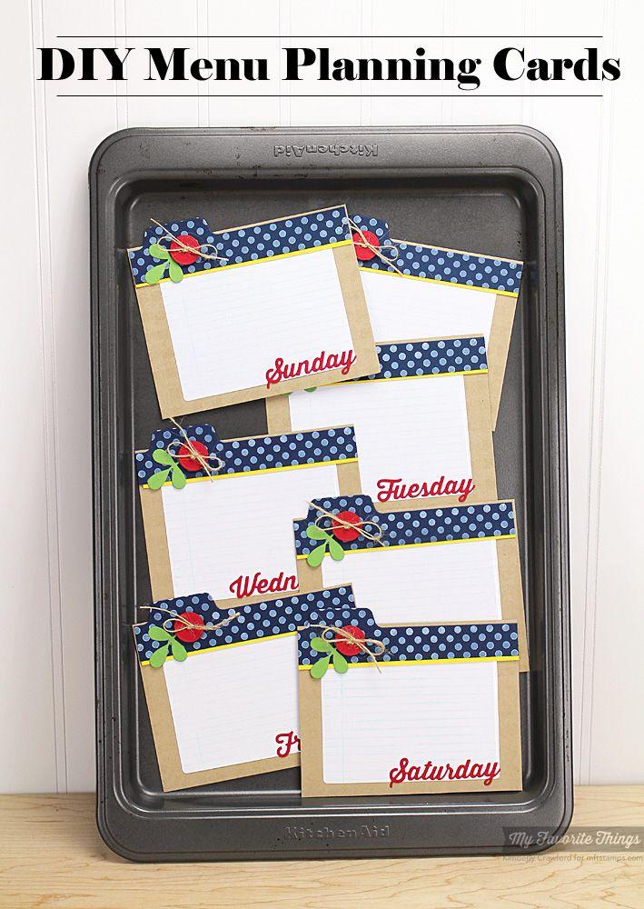 Diy Calendar Background : Diy magnetic weekly menu planning cards paper background