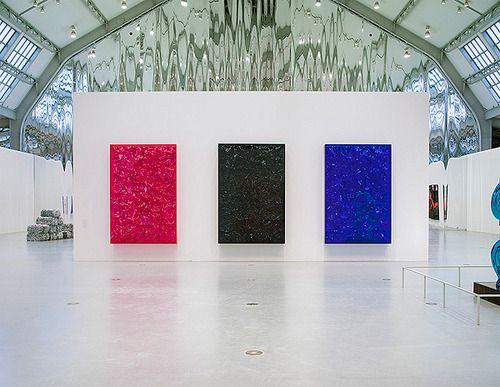 Anselm Reyle Exhibition @ Deichtorhallen, Hamburg  