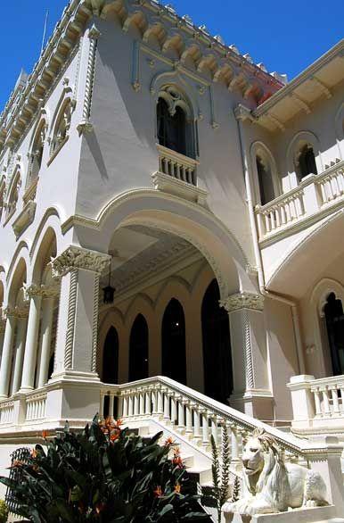 El Palacio Vergara es la antigua casa de José Francisco Vergara, fundador de Viña del Mar.