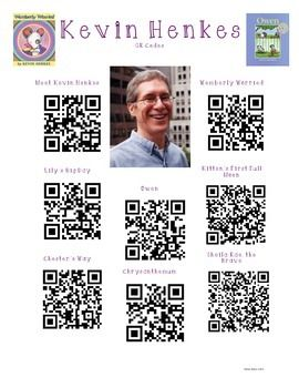 Use this as you present author Kevin Henkes to your class. Students will use a bar code scanner to read, listen, and watch books written by Kevin Henkes. Also included is a video clip of Kevin Henkes in a meet the author type video.