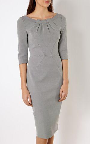 Платье-футляр в клетку Karen Millen