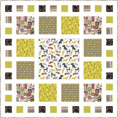 Free Pattern Patch Quilt 47 X 47 Quot By Lynne