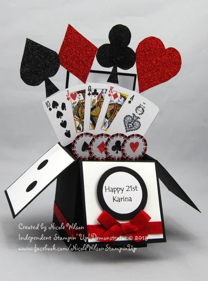 Nicole Wilson, Independent Stampin' Up! Demonstrator This was a custom order for a new customer