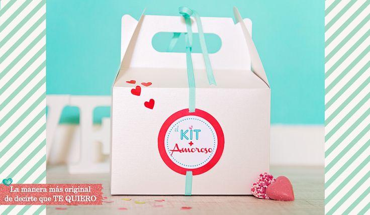 Kit enamorados, kit San Valentín, regalo san valentin, valentinesday, Regalo boda, regalo novios, www.estudiolove.com