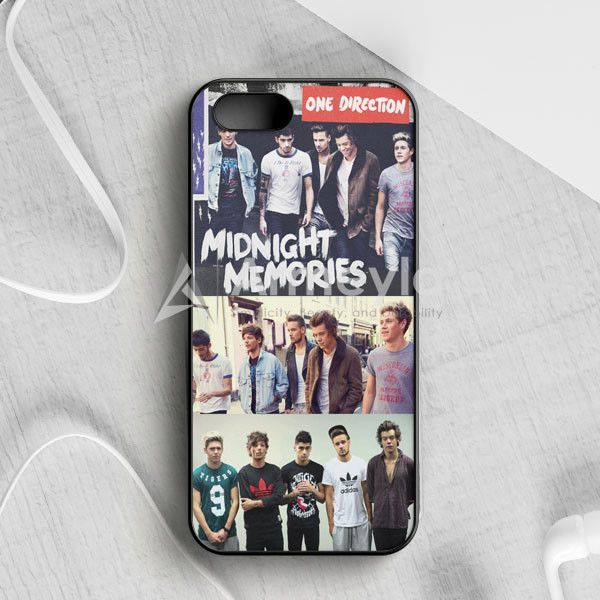 1D Midnight Memories Collage iPhone 5|5S|SE Case | armeyla.com