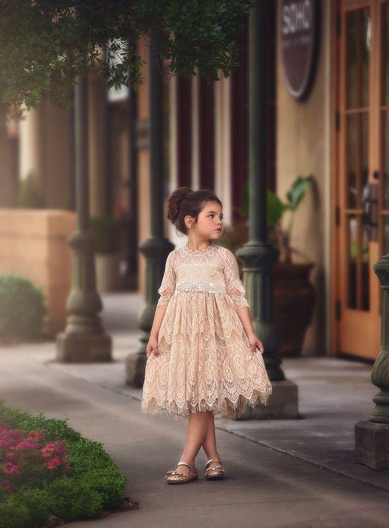b2f43197da19b Bella rafaela dress & belt set-butterscotch | Children Clothing ...