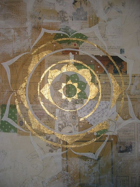 Mandala 2nd layer by shelley lane, via Flickr