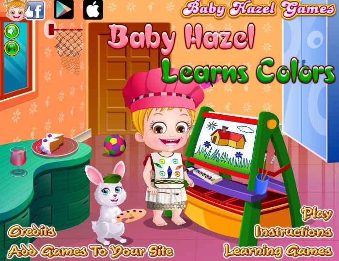 Baby Hazel is excited to learn identifying different colors. http://www.babyhazelgames.com/games/baby-hazel-learns-colors.html