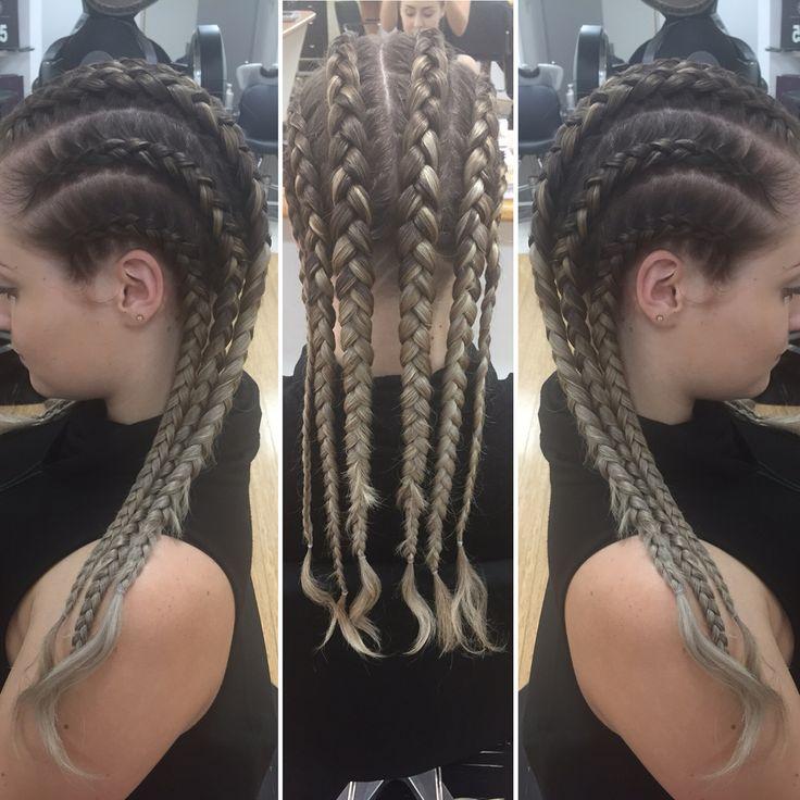 Tight Dutch braids (inside-out braids) | MY HAIR ...