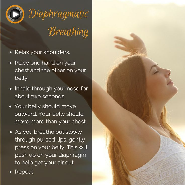 Learn how to breath with your diaphragme and relax in your breath #breathingexercise #relaxation