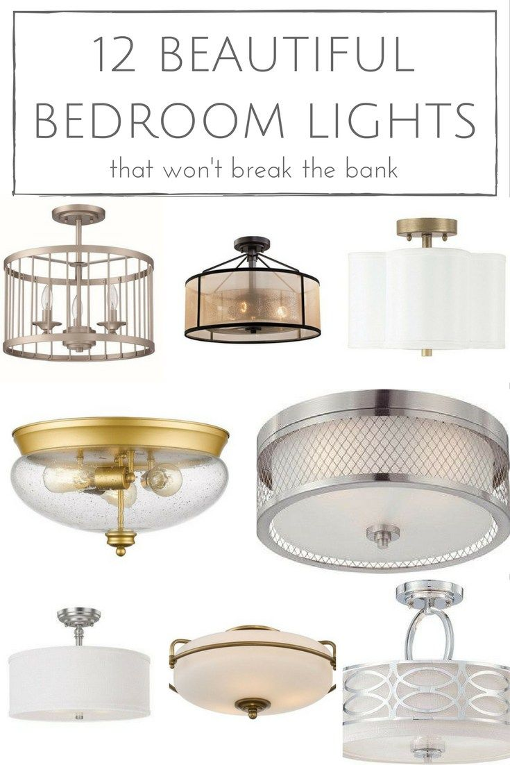 12 Stunning Bedroom Paint Ideas For Your Master Suite: 12 Beautiful Bedroom Lights That Won't Break The Bank