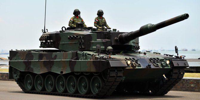 Tank Leopard TNI AD