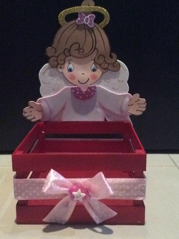 Dulcero de ángel niña