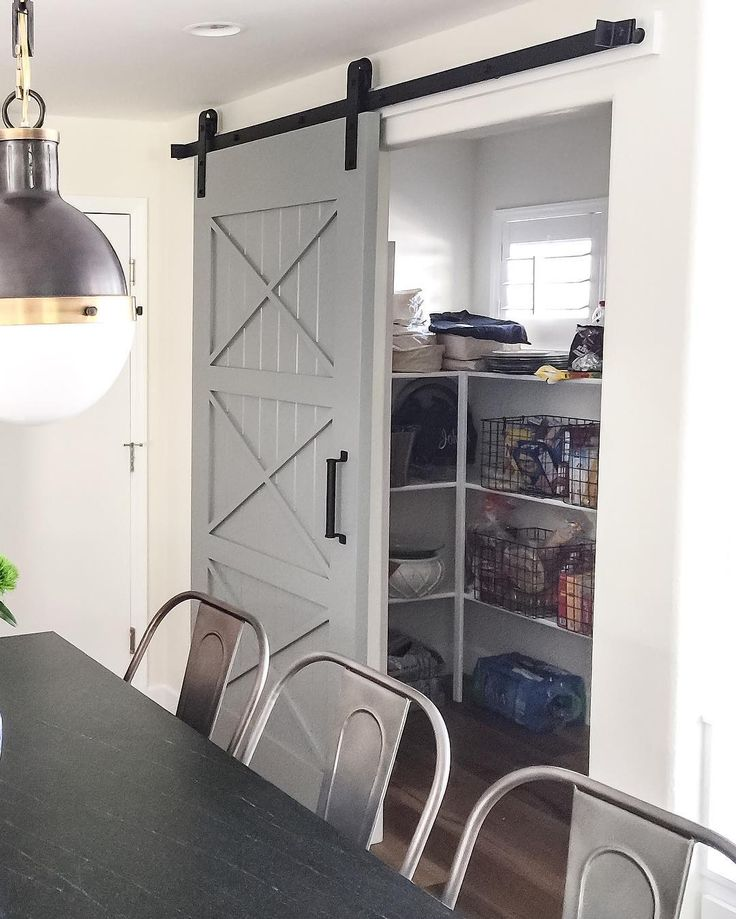 Pantry Ideas With Sliding Doors: 76 Best Barn Door Ideas Images On Pinterest