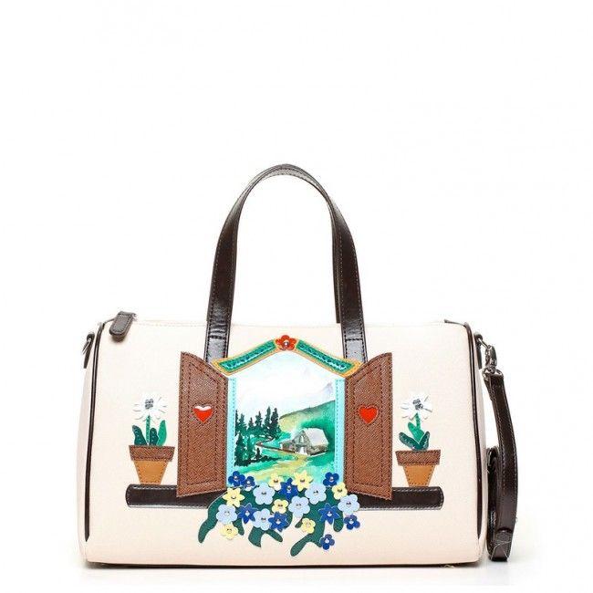 Borsa Braccialini bauletto Window B9291 #braccialini #borse #handbags #fashion #accessories