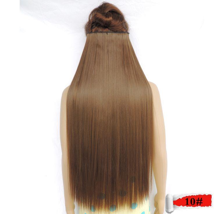 Haar verlängerung falsche synthetische japanische super langen clip in haar extensions extensions mädchen geheimnis de pelo gerade 10 #