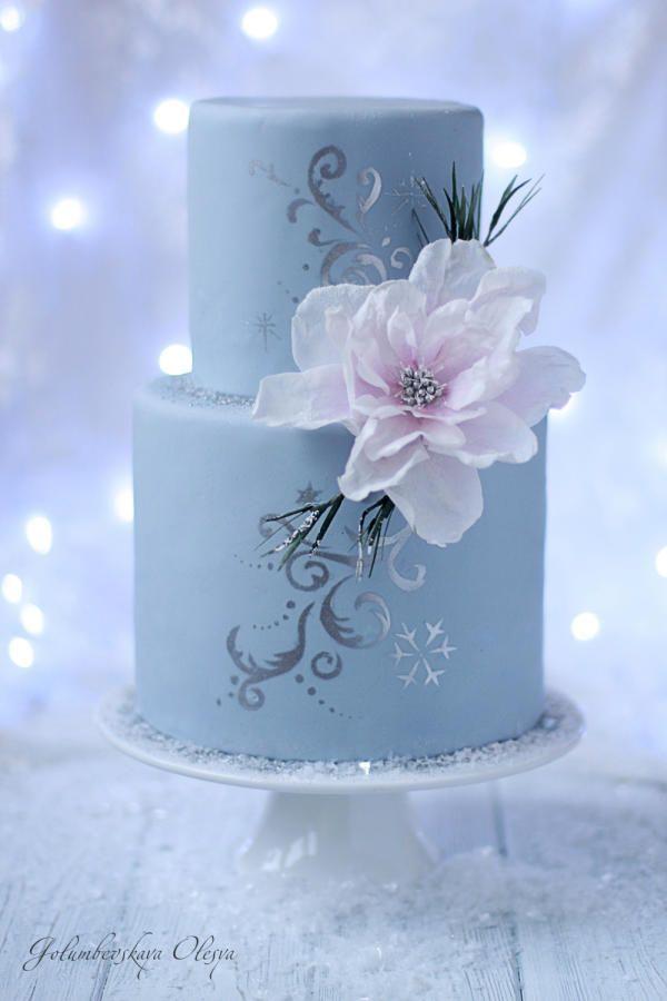 Winter cake by Golumbevskaya Olesya