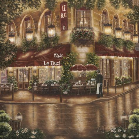 Cafe le Buci by Betsy Brown