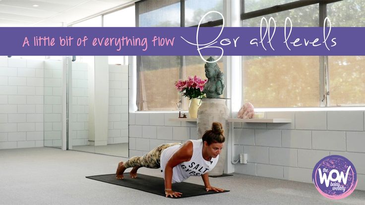 Week 22: A little bit of everything flow - As the title promises! It's light on time investment but big on feeling good. For all levels (I offer modifications), all experiences, and all possibilities. Good as a kick starter to a morning practice, or a reset after your day before you settle into your evening.
