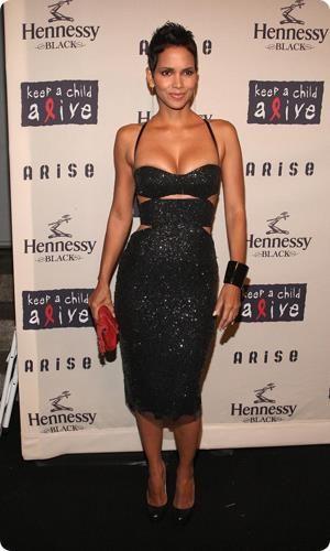 Черное платье холли берри