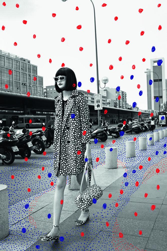 Vuitton loves Kusama Be featured in Model Citizen App, Magazine and Blog. www.modelcitizenapp.com