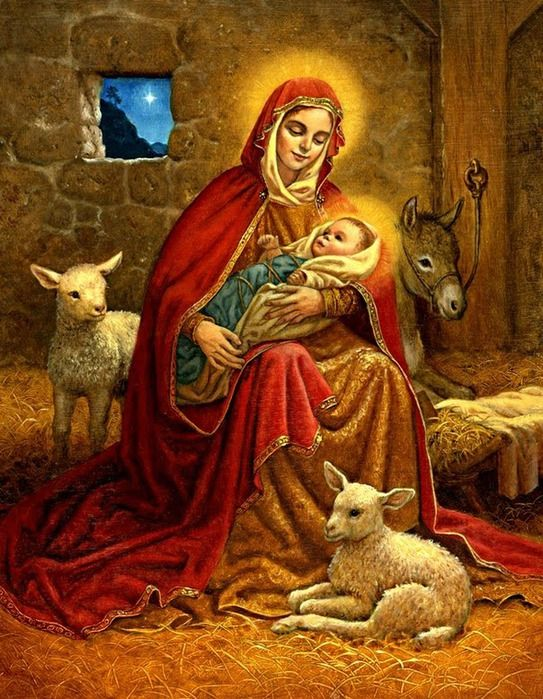 Fotos de Navidad (religizionnye). Ideas para decoupage. Debate sobre LiveInternet - Servicio Ruso diario en línea