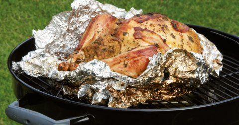 Kettle braai turkey with cashew nut stuffing recipe | Getaway Travel Blog