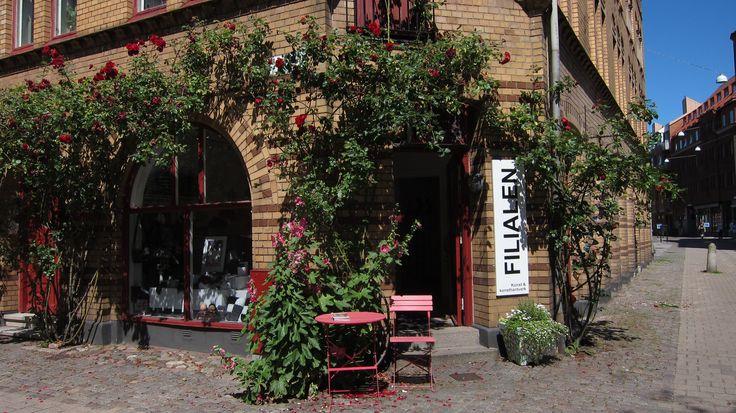 Filialen Konst & Konsthantverk Agnesgatan 1 på Gamla Väster