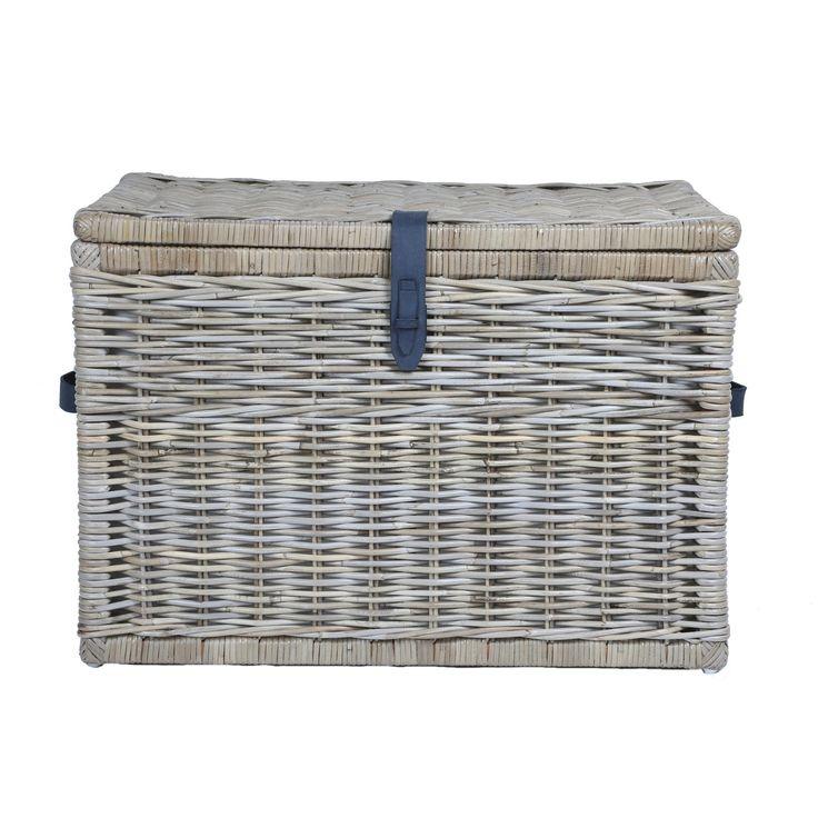 Grey Cottage Woven Storage Bins: 17 Best Ideas About Wicker Storage Trunk On Pinterest