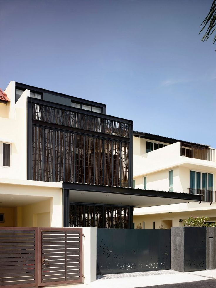 Natural Geometry by HYLA Architects. Singapore HouseGreen ...