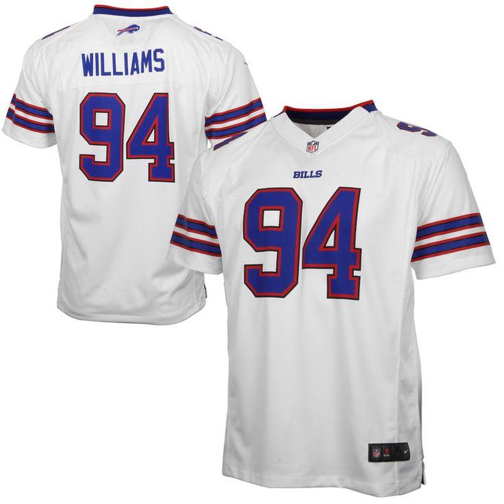 Mario Williams Buffalo Bills Nike Youth Game Jersey – White