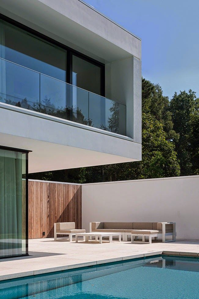 Best Arquitetura Images On Pinterest Architecture Facades - Contemporary purity and simplicity pool villa by jm architecture italy