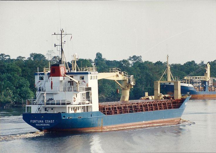 """M/S """"Fortuna Coast"""" af Kalundborg"""