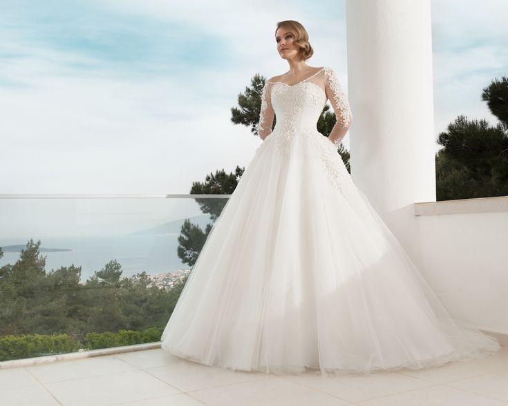 prenses modeli gelinlikler-prenses gelinlik modelleri 2016-nova bela nişantaşı istanbul