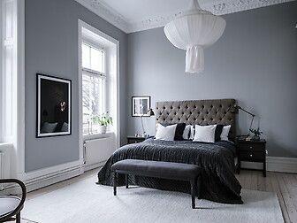 Bildresultat för grå väggar sovrum