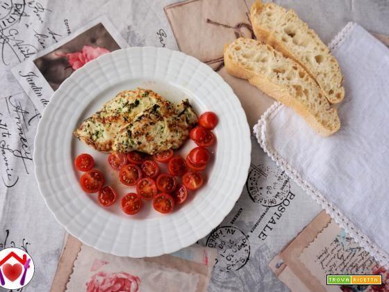 Pollo leggero alle erbe aromatiche  #ricette #food #recipes
