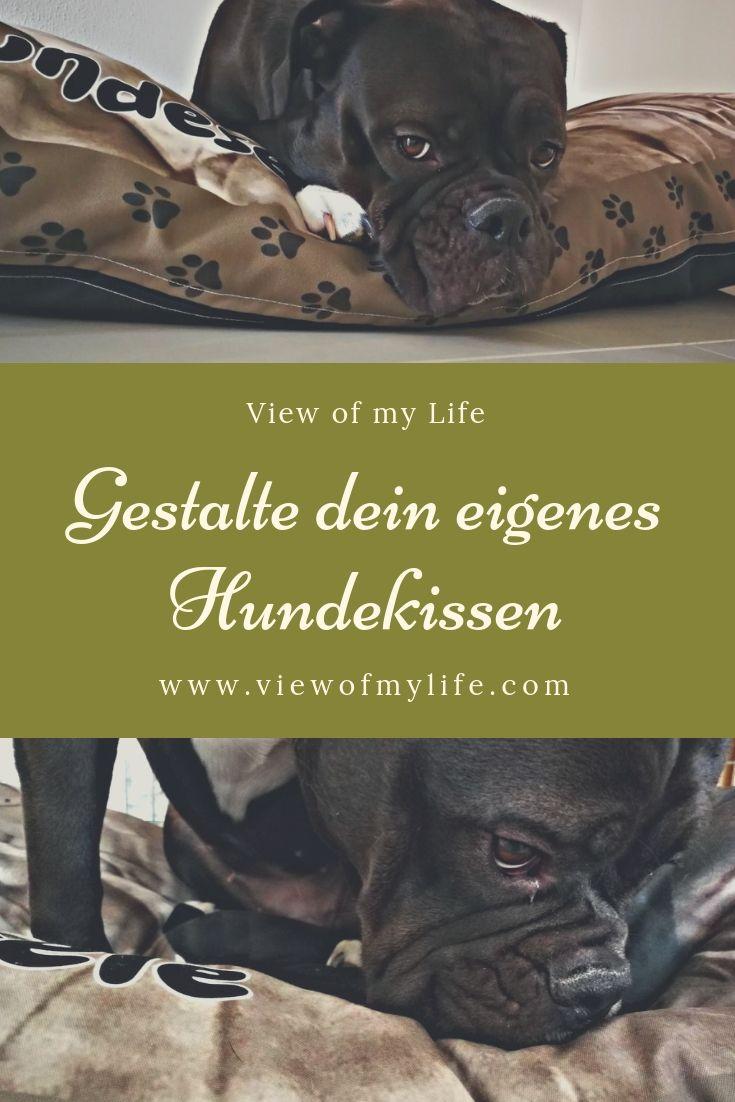 Gestalte Dein Eigenes Hundekissen Werbung Hundebett Petinfluencer Dogblogger Viewofmylife View Hundeleben Hundeglu Hundekissen Hunde