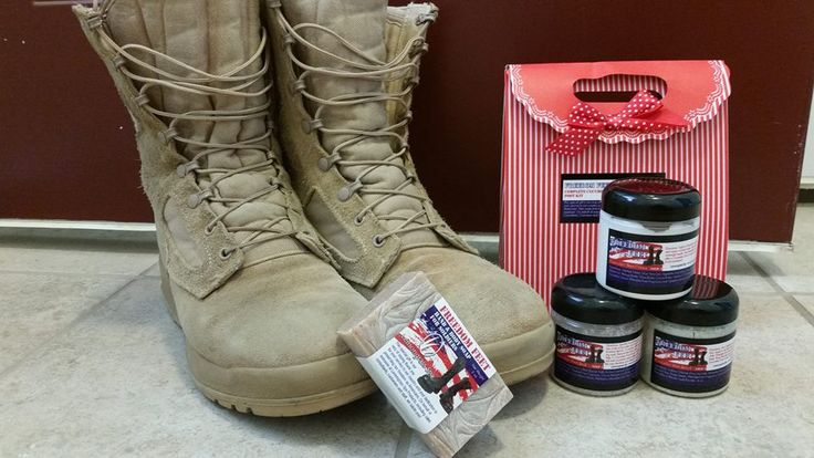 Saying THANKS to active military personnel serving overseas...Lemongrass designed special Foot Care Kits to meet the needs of our military men and women, These individuals wear their combat boots 15+ hours a day, making them prone to numerous issues.  Caring for their feet is essential! Purchase a kit yourself or cost share with others. To donate, visit my website and search for product #G1101. Add the amount you wish to donate (starting at $1). Thank you!