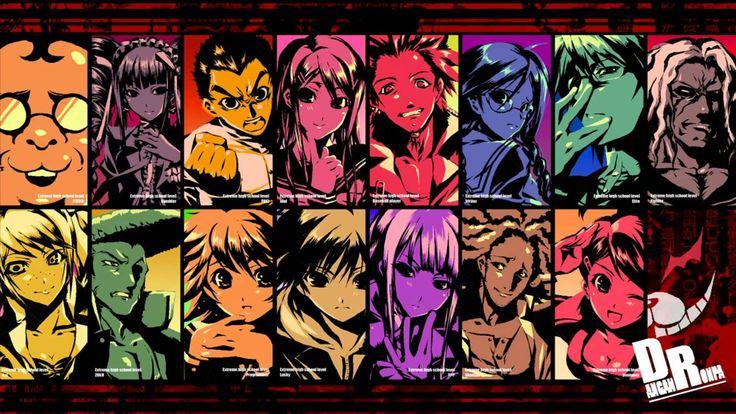 anime Dangan Ronpa Pinterest Danganronpa game, Game