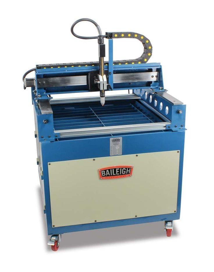 CNC Plasma Cutting Table Baileigh PT-22 :http://toolsforwelding.com/cnc-plasma-cutting-table-baileigh-pt-22/
