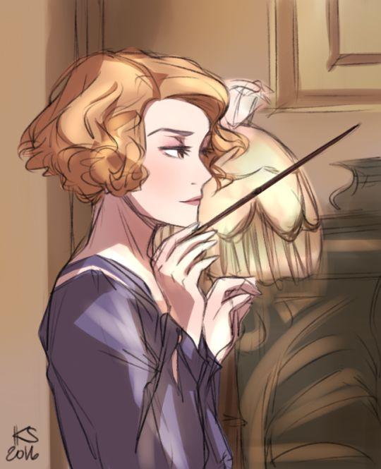 Fantastic Beasts - Queenie