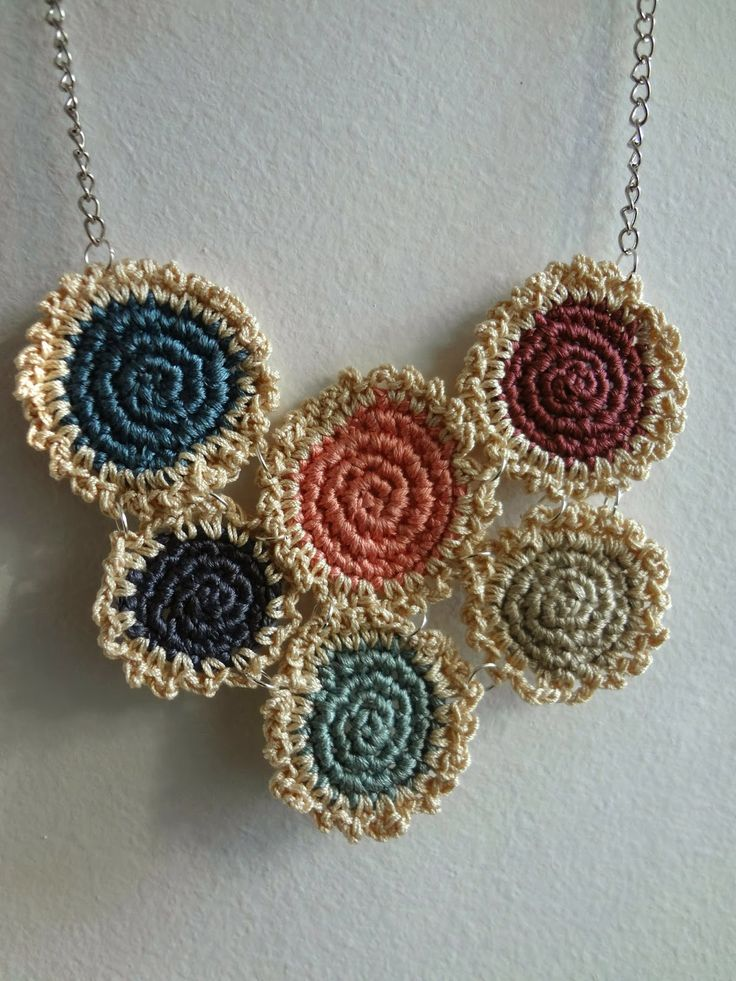 My Mini Doilies Necklace Pattern in the Simply Crochet magazine