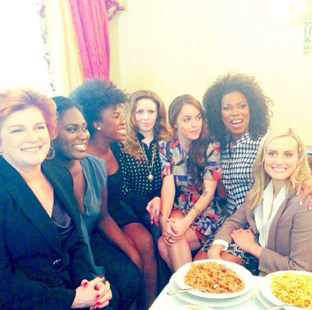 """Most of the """"Orange is the New Black"""" cast via Instagram #OITNB"""